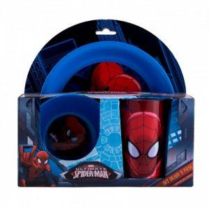 Set dejun 3 piese Spiderman - SMA44435-500x500